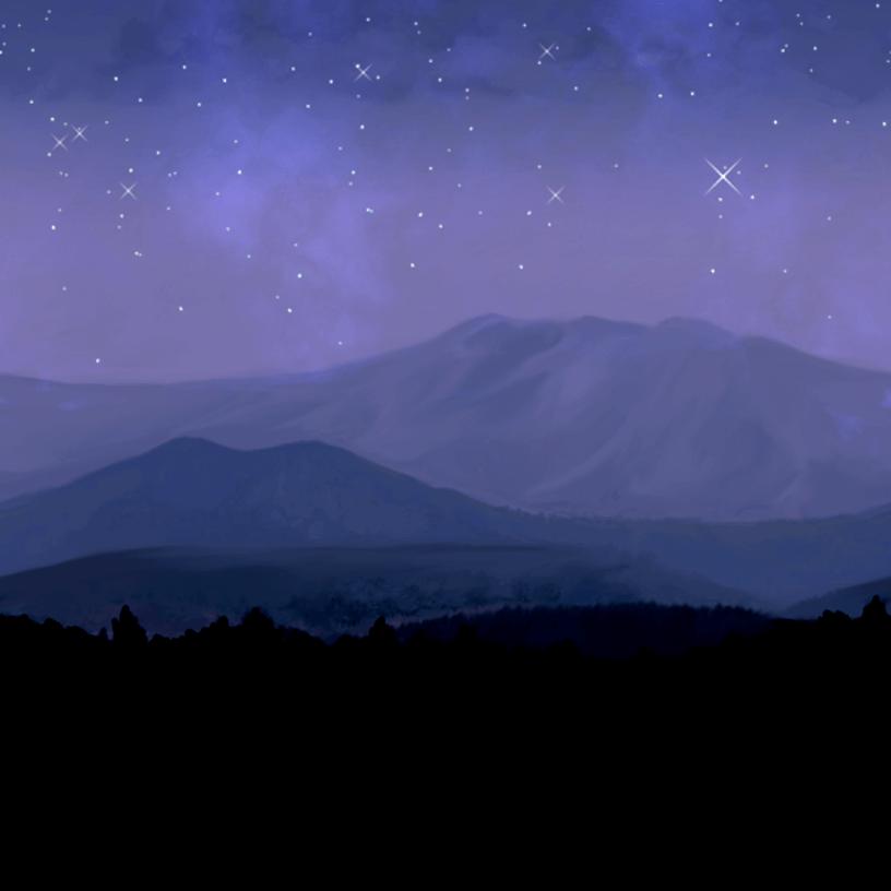 山(星空)