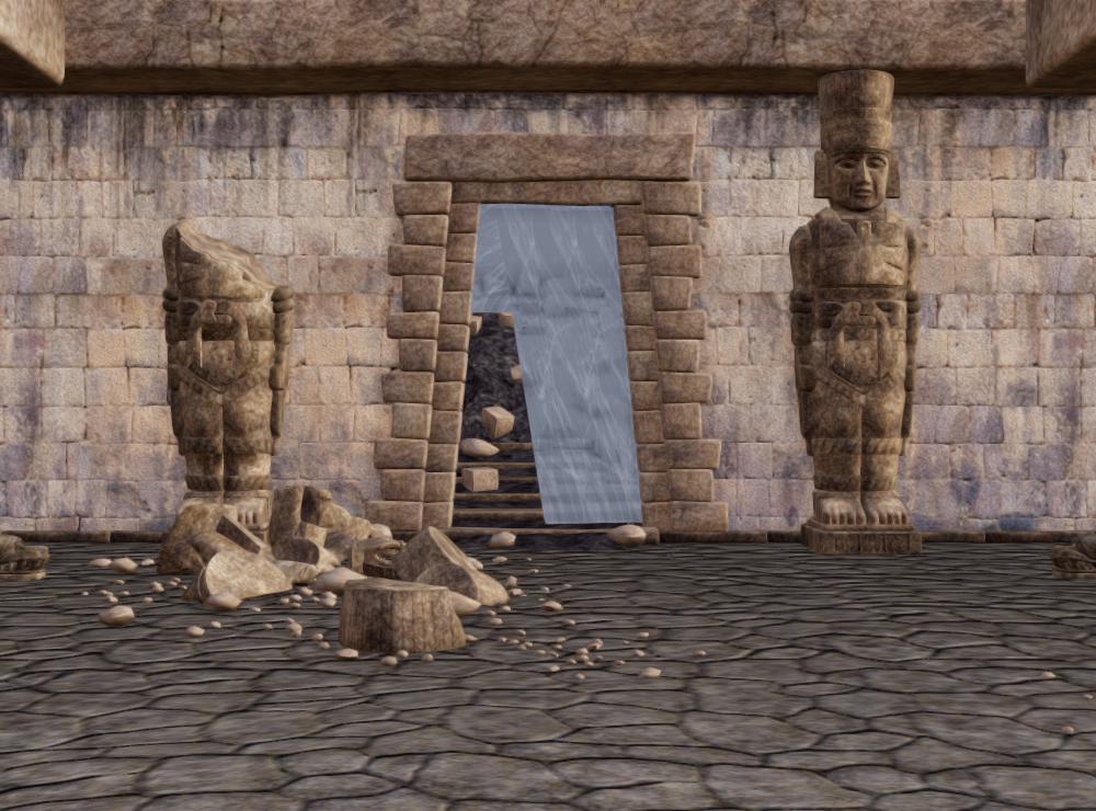 遺跡の入り口